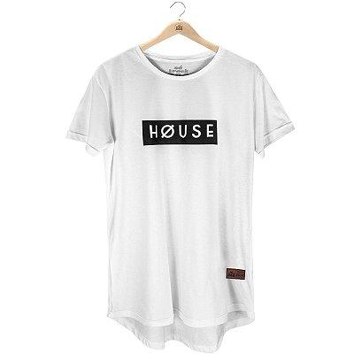 Camiseta Longline Høuse - Masculina