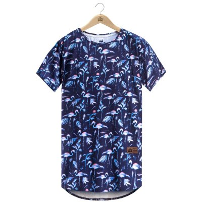 Camiseta Blue Flamingo
