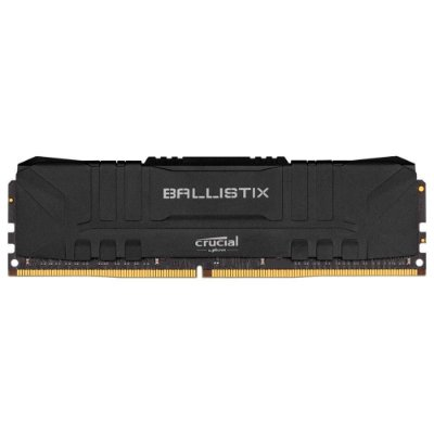 MEMÓRIA CRUCIAL BALLISTIX 16GB DDR4 2666 MHZ, CL16, UDIMM, PRETO - BL16G26C16U4B