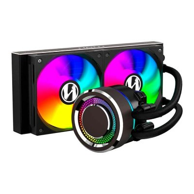 WATER COOLER LIAN LI GALAHAD AIO 240 RGB BLACK - GA-240B