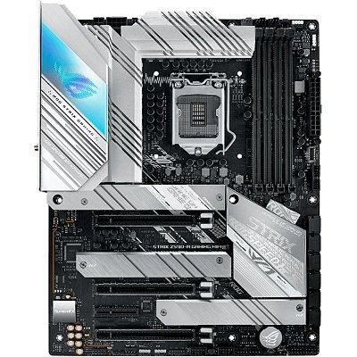 PLACA MÃE ASUS ROG STRIX Z590-A GAMING WIFI, CHIPSET Z590, INTEL LGA 1200, ATX, DDR4