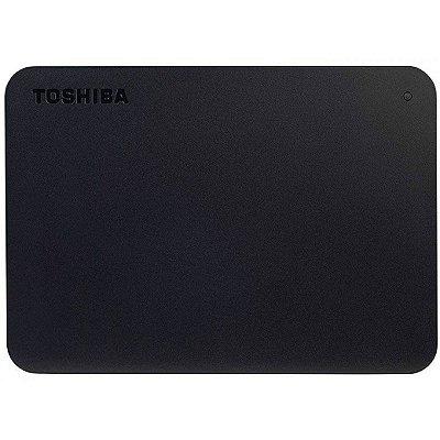HD EXTERNO PORTÁTIL TOSHIBA CANVIO ADVANCE 4TB, USB 3.0, BLACK - HDTB440XK3CA