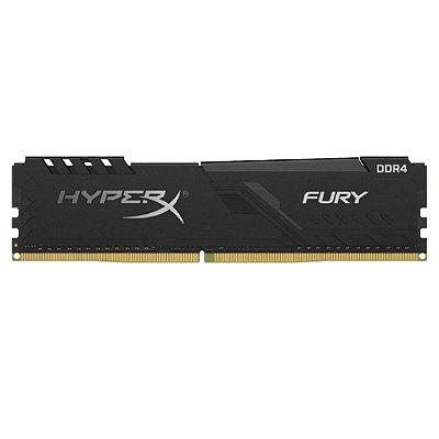MEMÓRIA DDR4 KINGSTON HYPERX FURY, 32GB 2666MHZ, BLACK - HX426C16FB3/32