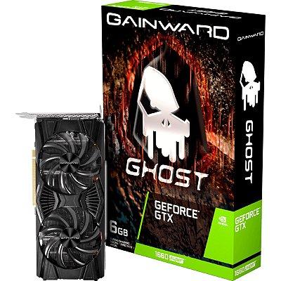 PLACA DE VÍDEO GAINWARD GEFORCE GTX 1660 SUPER GHOST DUAL, 6GB GDDR6, 192BIT - NE6166S018J9-1160X-1