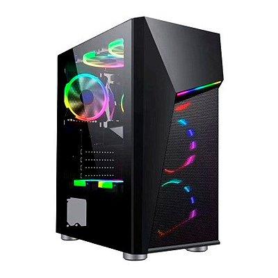 COMPUTADOR GAMER RYZEN 5 3500, 8GB DDR4, SSD 240GB, GTX 1050TI 4GB, 500W REAIS