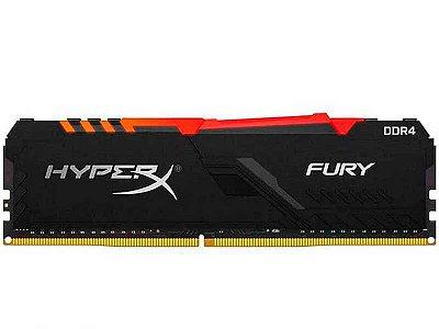 MEMÓRIA HYPERX FURY RGB DE 32GB DIMM DDR4 3000MHZ 1,2V PARA DESKTOP - HX430C16FB3A/32