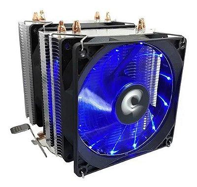 COOLER GAMER UNIVERSAL RISE MODE G700 COM LED AZUL INTEL AMD - RM-AC-07-FB