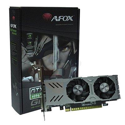 PLACA DE VIDEO AFOX, GTX 750, DDR5, 4GB, 128BITS, AF750-4096D5L4