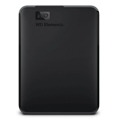 HD EXTERNO PORTÁTIL WD ELEMENTS, 4TB, USB 3.0, PRETO - WDBU6Y0040BBK-EA