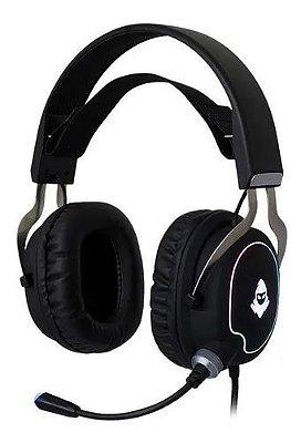 HEADSET GAMER MANCER ARTHAS RGB 7.1 PRETO, MCR-ART-RGB01