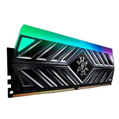 MEMÓRIA XPG SPECTRIX D41, RGB, 16GB, 3000MHZ, DDR4, CL16, CINZA - AX4U300016G16A-ST41