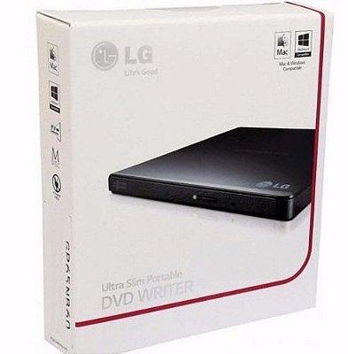 GRAVADOR DE DVD EXTERNO GP65 LG