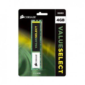 MEMÓRIA 4GB DDR3 1600MHZ CORSAIR VALUE