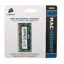MEMÓRIA CORSAIR MAC MEMORY 4GB 1066MHZ DDR3, CMSA4GX3M1A1066C7
