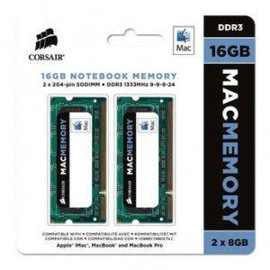 MEMÓRIA 2X8GB DDR3 1333MHZ CORSAIR MAC