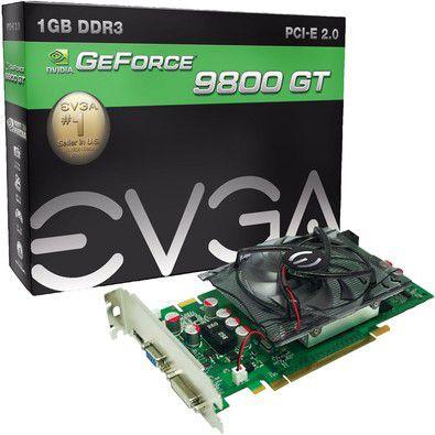 PLACA DE VÍDEO GEFORCE GT9800 1GB DDR3 EVGA