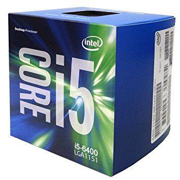 PROCESSADOR INTEL I5 6400 2.7GHZ 6MB SOCKET 1151