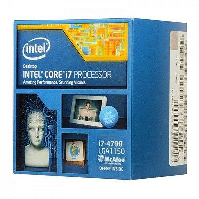 PROCESSADOR INTEL I7 4790 3.6MHZ 8MB SOCKET 1150