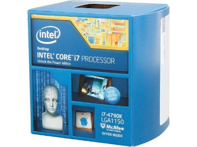 PROCESSADOR INTEL I7 4790K 4.0GHZ 8MB SOCKET 1150