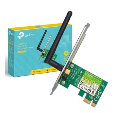 PLACA DE REDE TP-LINK PCI EXPRESS WIRELESS 150MBPS TL-WN781ND