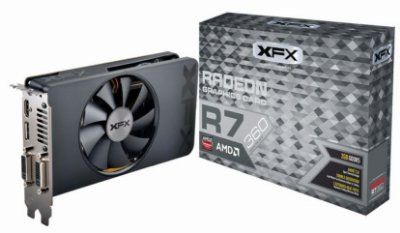 PLACA DE VÍDEO R7 360 2GB DDR5 128BITS XFX