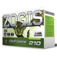 PLACA DE VÍDEO GT 210 1GB DDR3 64BITS ZOGIS
