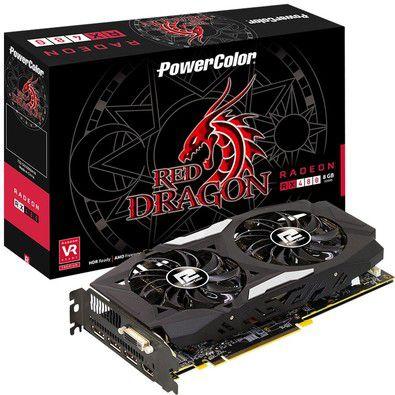 PLACA DE VÍDEO RX 480 8GB DDR5 256BITS POWER COLOR
