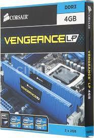 MEMÓRIA 2X2GB DDR3 1600MHZ CORSAIR VENGEANCE
