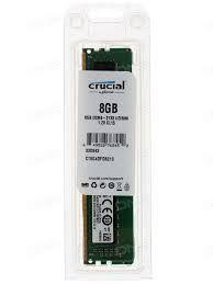 MEMÓRIA 8GB DDR4 2133MHZ CRUCIAL