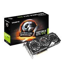 PLACA DE VÍDEO GEFORCE GTX 970 XTREME 4GB DDR5 256BITS GIGABYTE