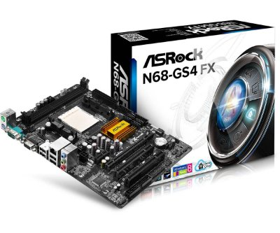 PLACA MÃE N68-GS4 SOCKET AM3+ ASROCK