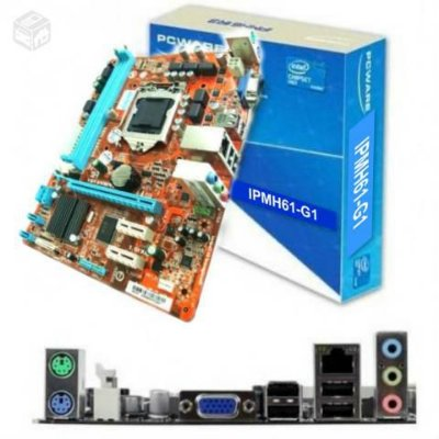 PLACA MÃE IPMH61G1 SOCKET 1155 PCWARE