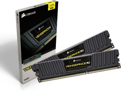 MEMÓRIA 2X4GB DDR3 1600MHZ CORSAIR VENGEANCE