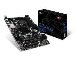 PLACA MÃE 970A-G43 PLUS SOCKET AM3+ MSI
