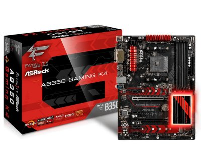 PLACA MÃE AB350 GAMING K4 SOCKET AM4 ASROCK