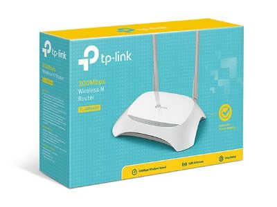 ROTEADOR WIRELESS TP-LINK 300MBPS TL-WR840N