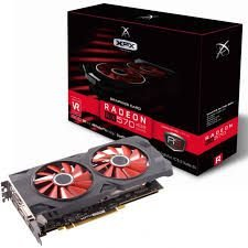 PLACA DE VÍDEO RX 570 4GB DDR5 256BITS XFX
