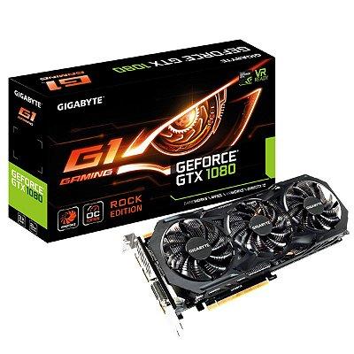 PLACA DE VÍDEO GTX 1080 8GB DDR5 256BITS GIGABYTE G1
