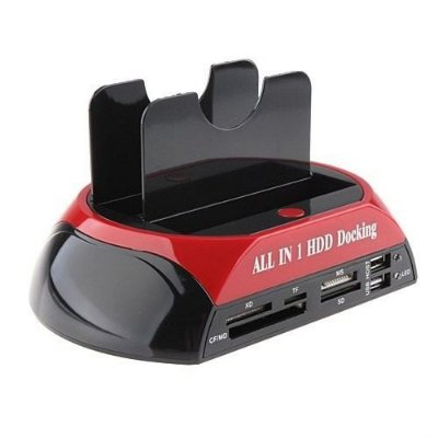 CASE P/ 02 HD F-3 DOCKING STATION SATA 3,5 E 2,5 USB 3.0