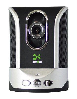 CAIXA DE SOM + MICROFONE + WEBCAM 5.0 MP XN-0001