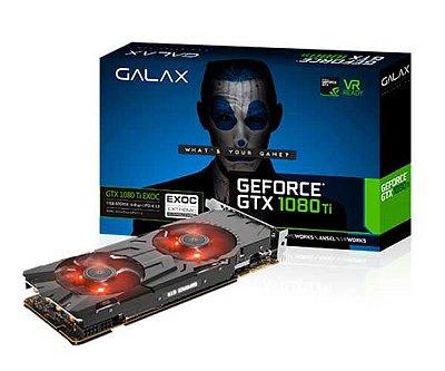 PLACA DE VÍDEO GTX 1080TI 11GB GDDR5X 352BITS GALAX