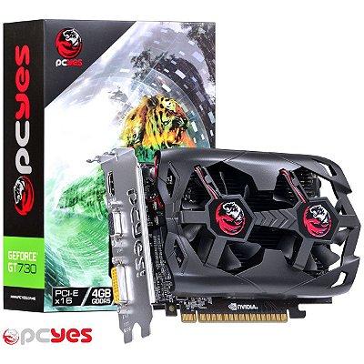 PLACA DE VIDEO GT 730 4GB DDR5 128BITS PCYES