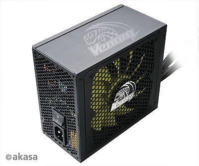 FONTE DE ALIMENTAÇÃO MODULAR AKASA VENOM POWER ATX 1000W - AK-PA100AM03-BR