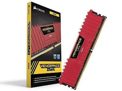 MEMÓRIA 4GB DDR4 2400MHZ CORSAIR VENGEANCE LPX