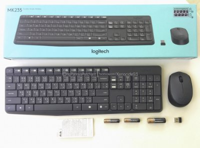 KIT MOUSE TECLADO LOGITECH WIRELESS MK235