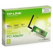 PLACA DE REDE TP-LINK PCI WIRELESS 54MBPS TL-WN350GD
