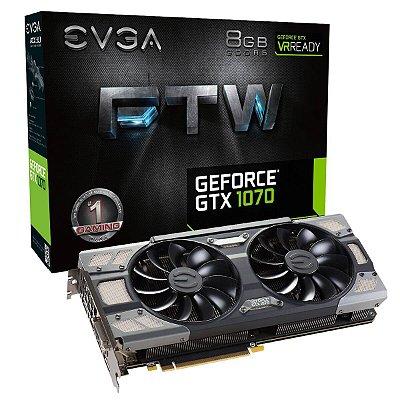 PLACA DE VÍDEO GTX 1070 8GB DDR5 + FONTE THERMALTAKE 700W