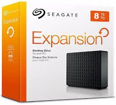 HD EXTERNO SEAGATE EXPANSION 8TB, USB 3.0 - STEB8000100