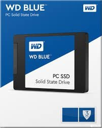SSD 250GB WD BLUE 540MB/S