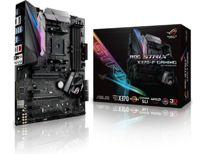 PLACA MÃE X370-F GAMING STRIX SOCKET AM4 ASUS
